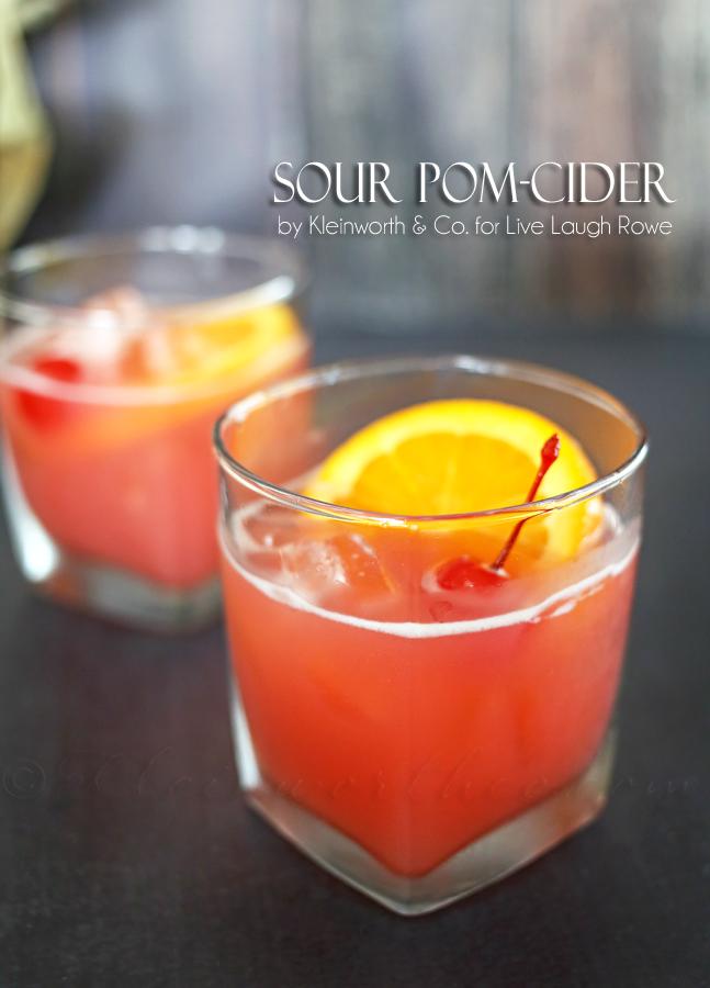 Sour Pom-Cider