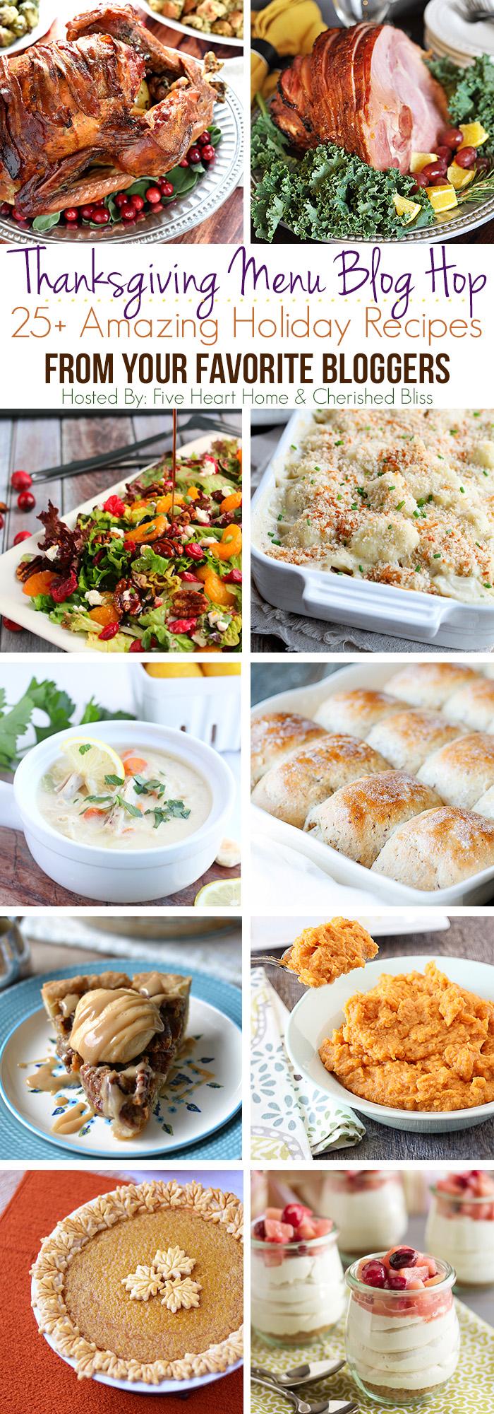 Thanksgiving Recipe Blog Hop