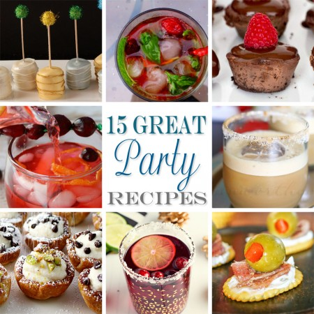 15 Great Party Recipes