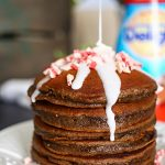 Peppermint Chocolate Truffle Pancakes
