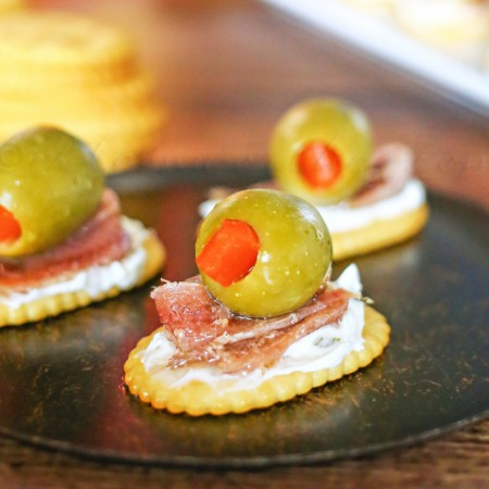 Anchovie & Olive Appetizer