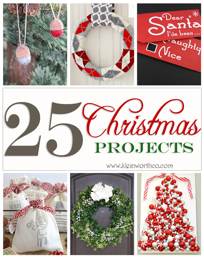 25 Christmas Projects