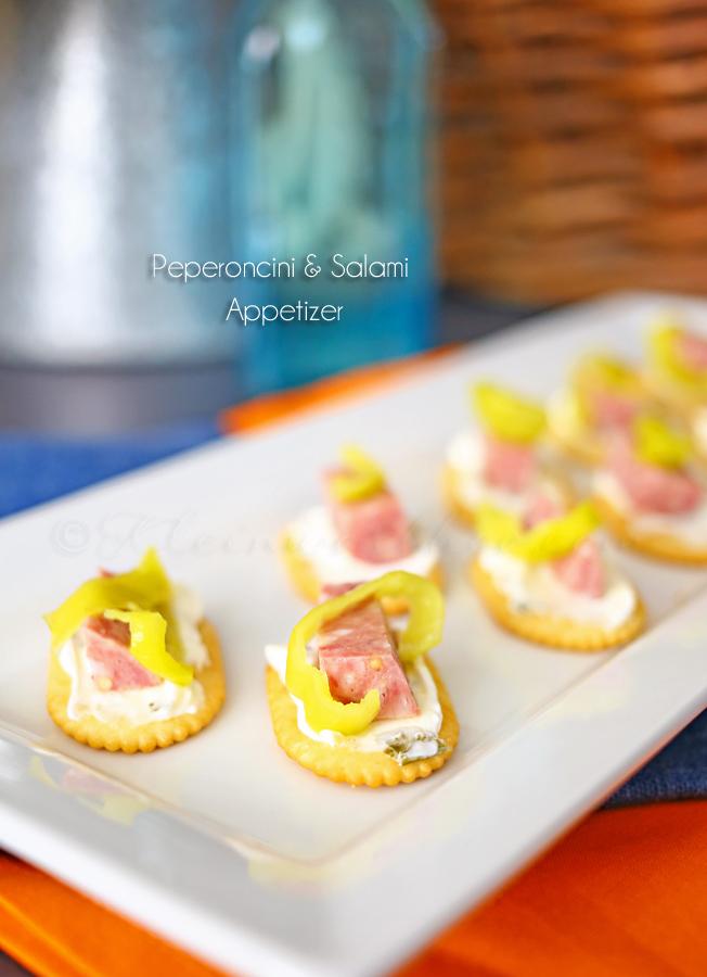 Peperoncini & Salami Appetizer