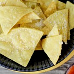 Parmesan Tortilla Chips