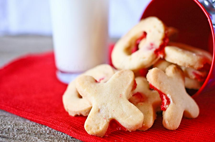 Red Hot Kisses & Hugs Cookies