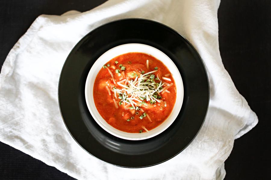 Macaroni & Sausage Soup