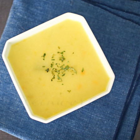 Creamy Celery Soup {Dairy Free} :Easy Family Dinner Ideas