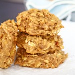 Peanut Butter & Banana Breakfast Cookies