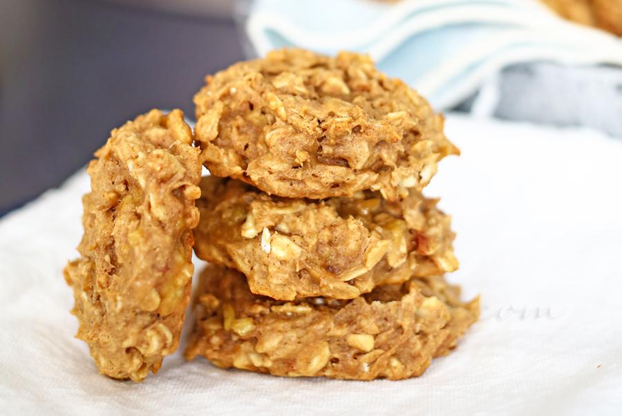 Peanut Butter & Banana Breakfast Cookies