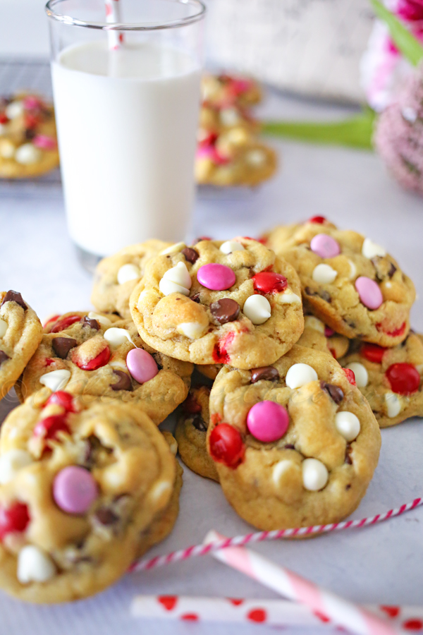 Valentine Chocolate Chip Cookies Kleinworth Co