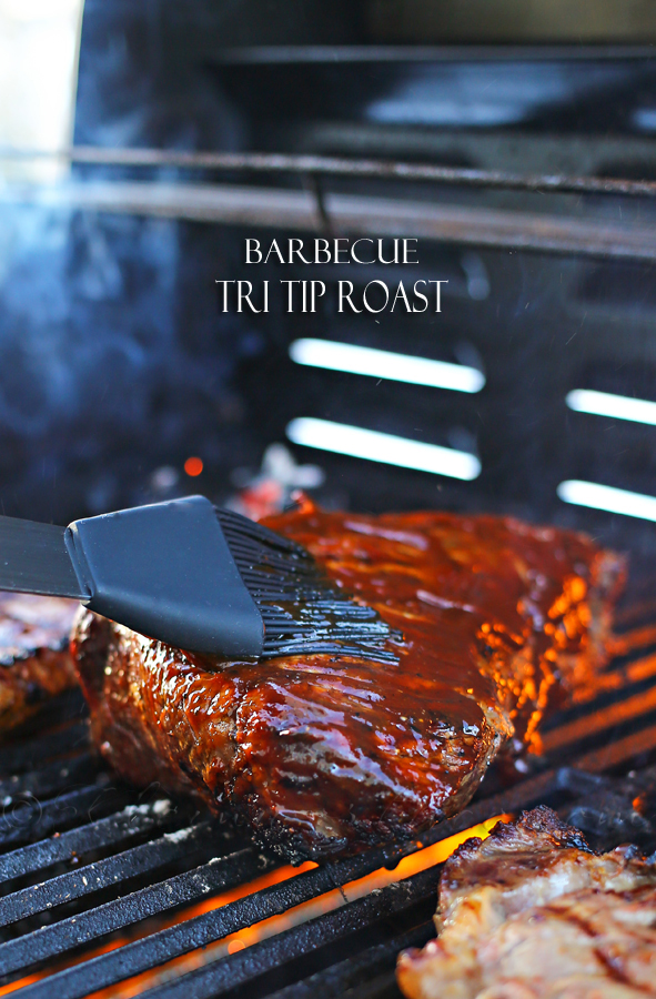 Barbecue Tri Tip Roast
