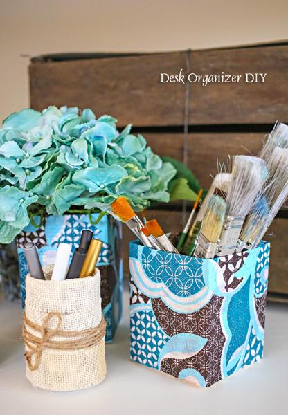 Desk Organizer DIY