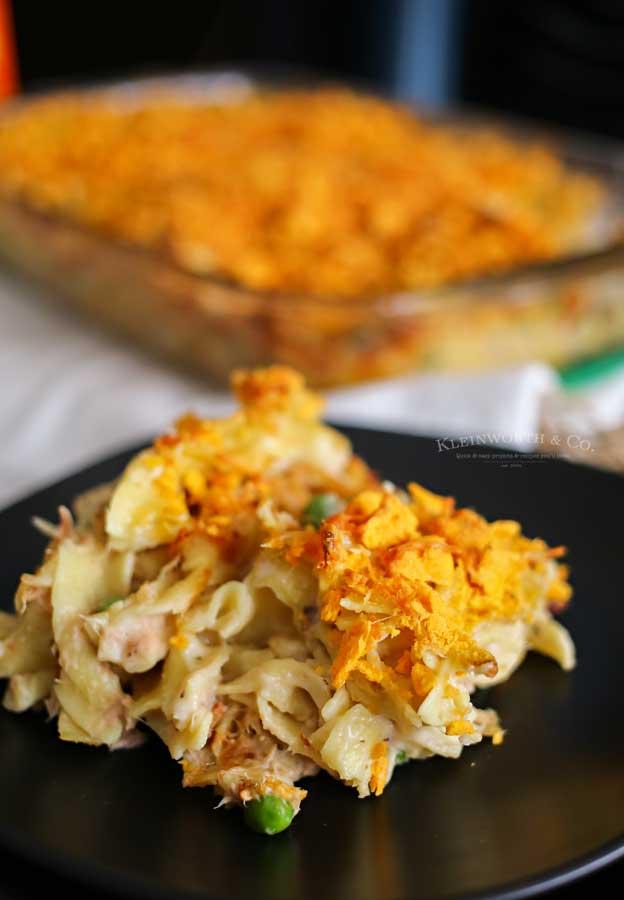 Easy dinner recipe - Tuna Noodle Casserole