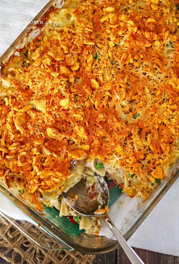 Tuna Noodle Casserole recipe