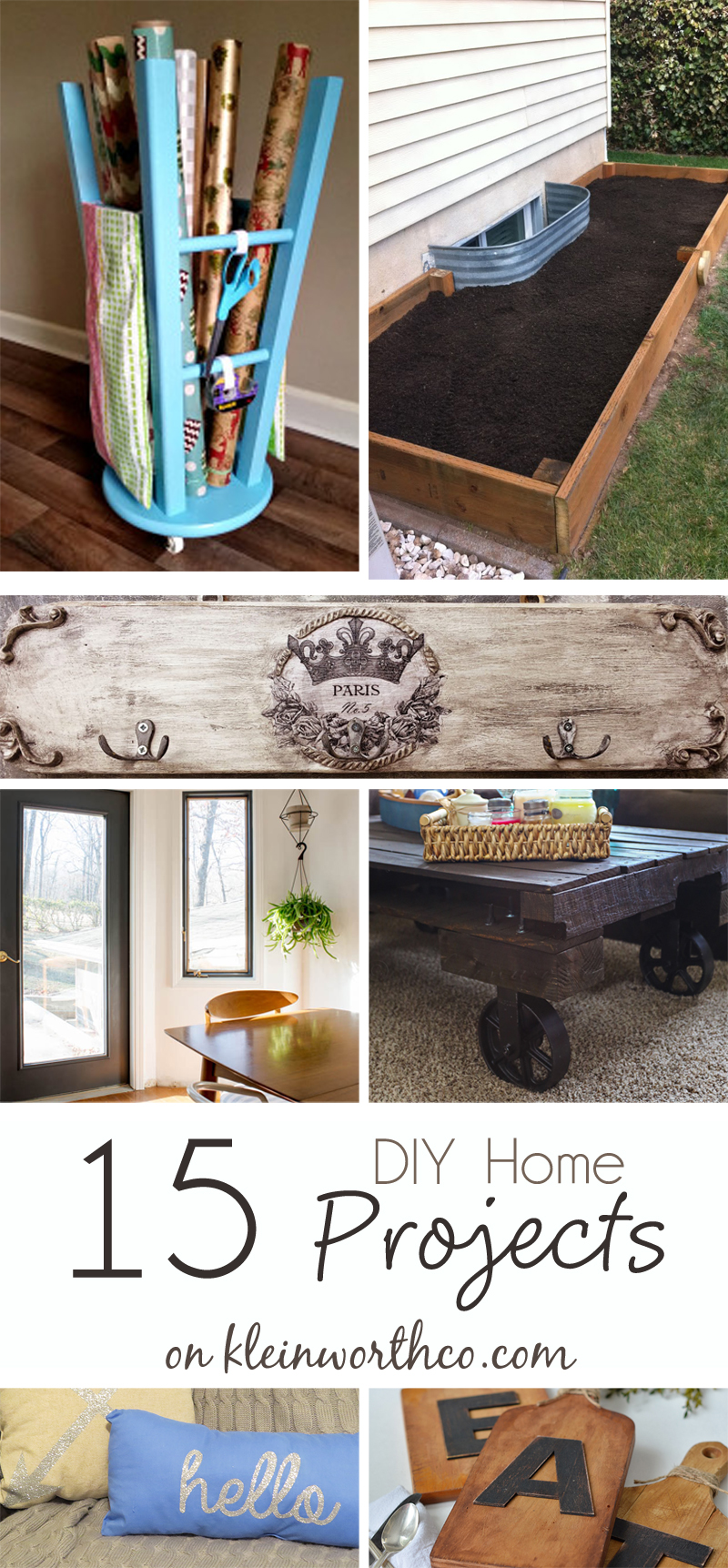15 DIY Home Projects