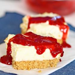Lemon Cheesecake Bars : Yummy Bar Recipes