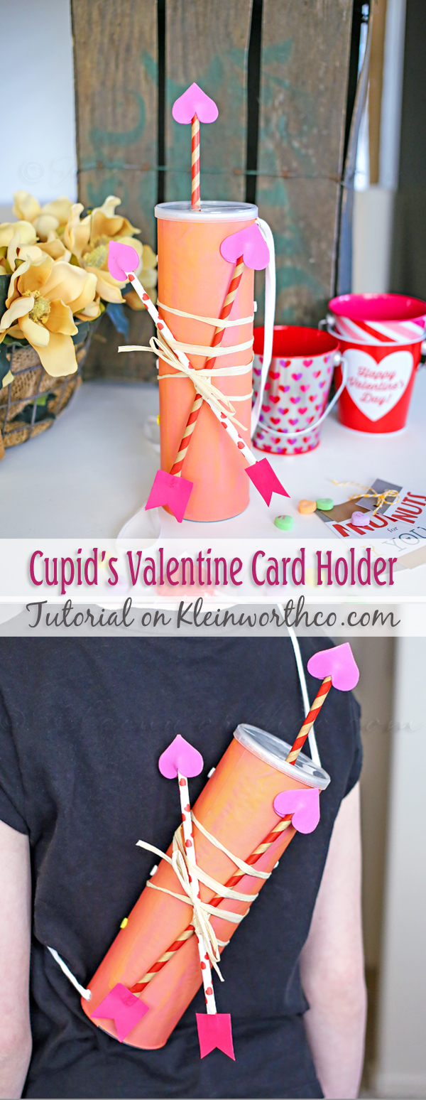 Cupid's Valentine Card Holder