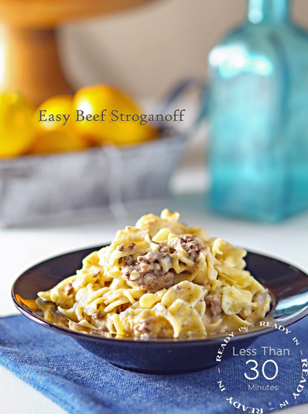 Easy Beef Stroganoff : Easy Family Dinner Ideas