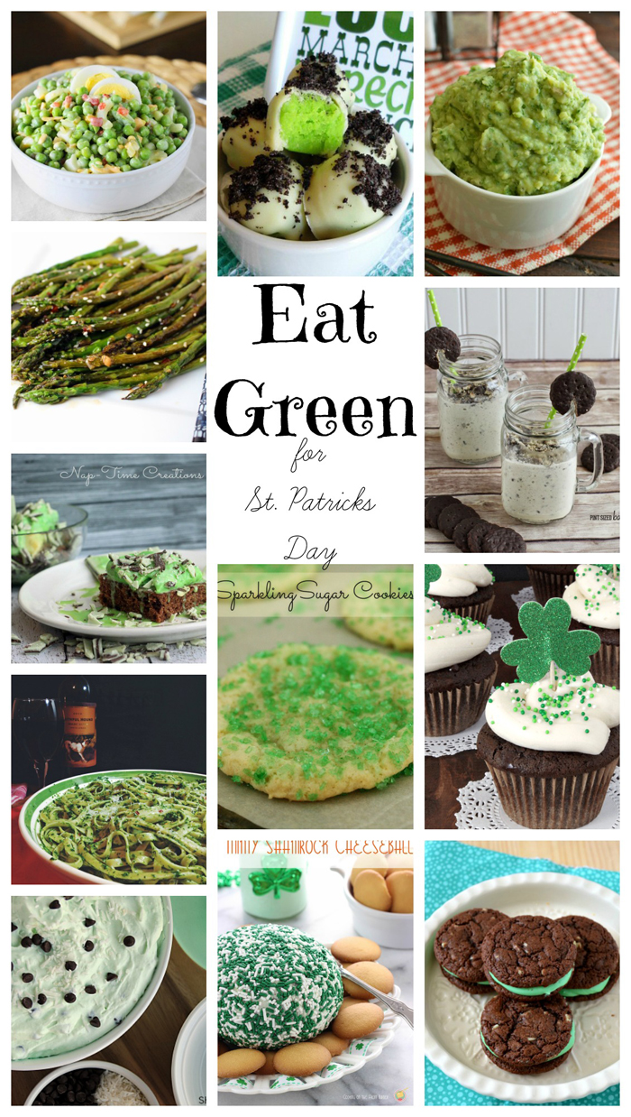 Eat Green for St. Patrick's Day