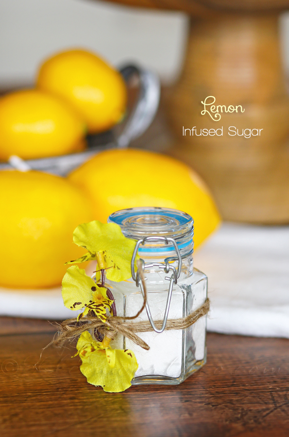 Lemon Infused Sugar