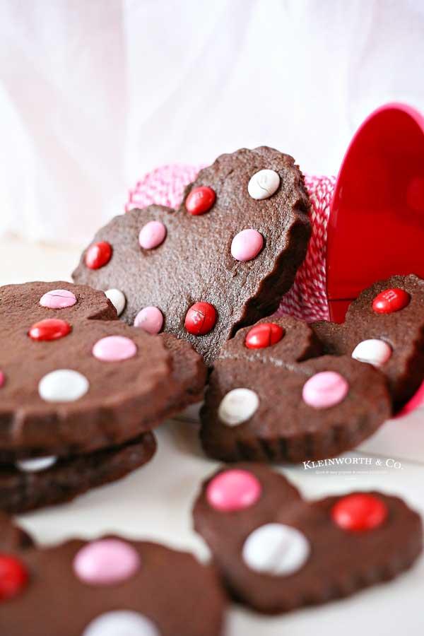 Valentine Chocolate Sugar Cookies recipe