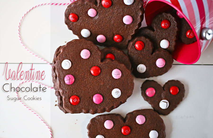 Valentine Chocolate Sugar Cookies Kleinworth Co