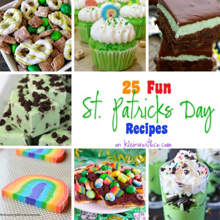 25 Fun St. Patrick's Day Recipes