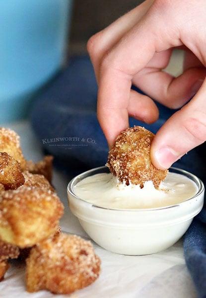 Cinnamon & Sugar Pretzel Bites