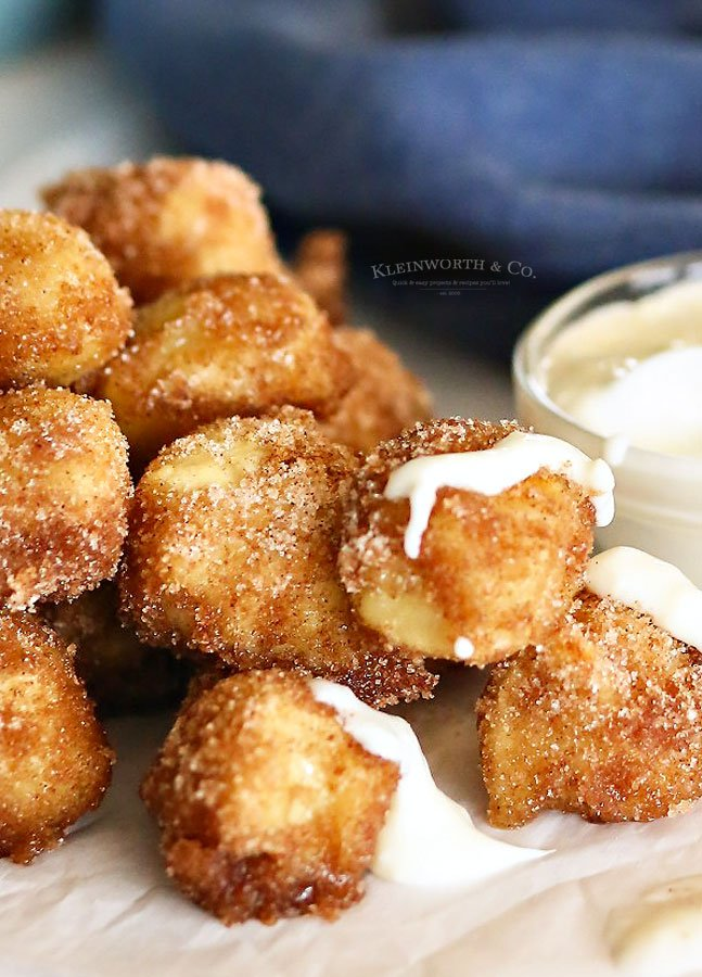 Cinnamon & Sugar Pretzel Bites recipe