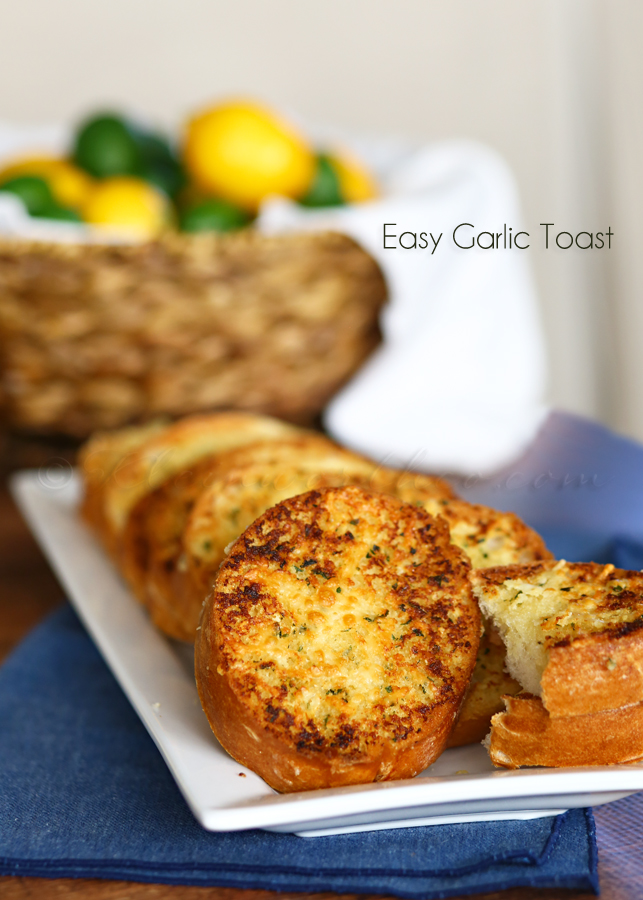 Easy Garlic Toast