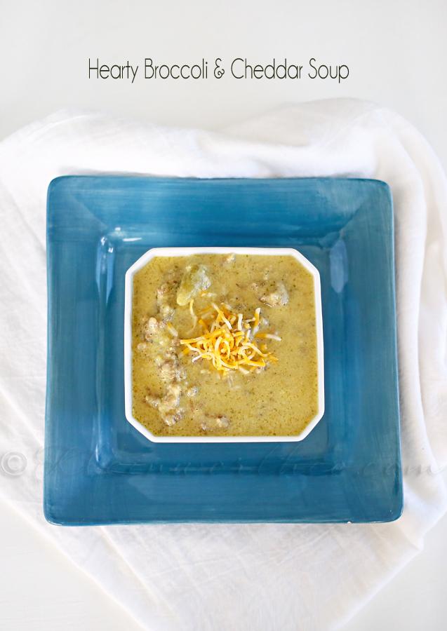 Hearty Broccoli Cheddar Soup : Easy Family Dinner Ideas