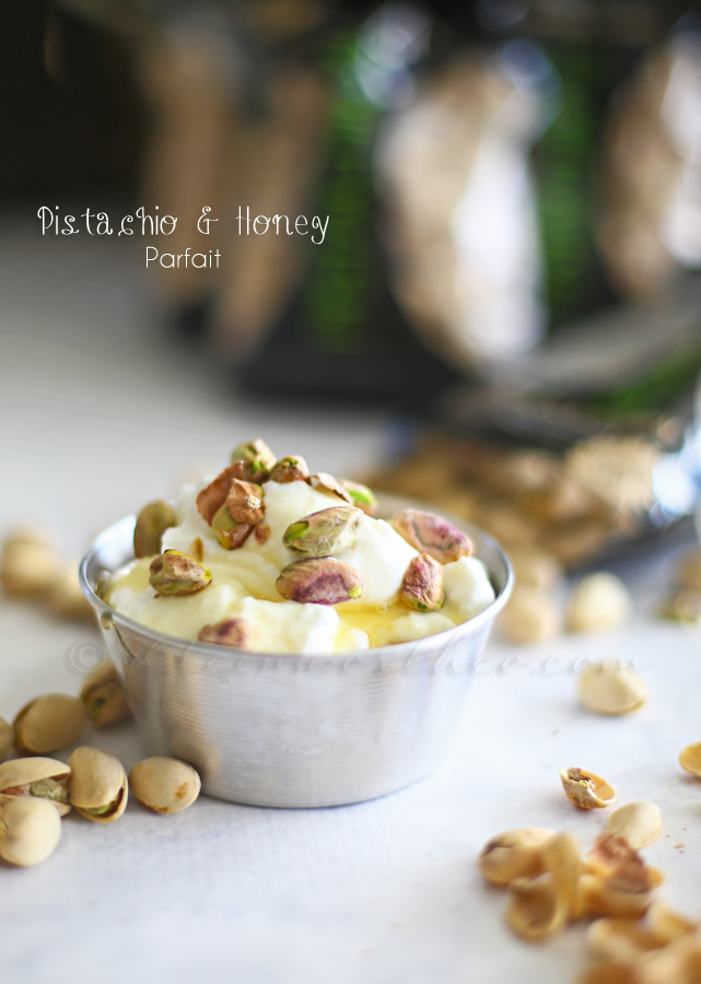 Pistachio & Honey Parfait