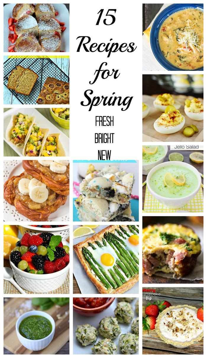 Recipes for Spring