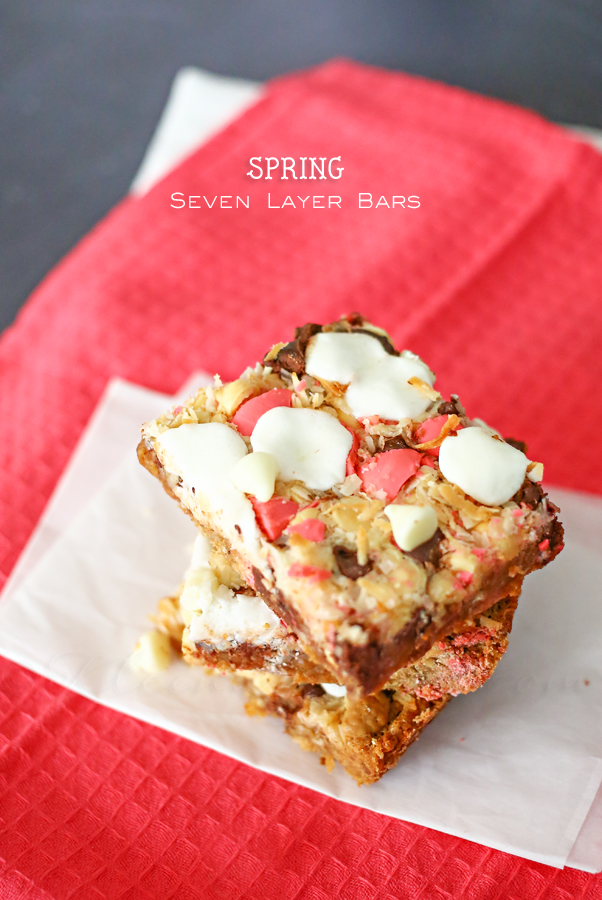 Spring Seven Layer Bars