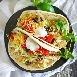 Crock Pot Chicken Tacos : Easy Family Dinner Ideas