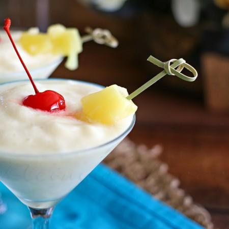 Banana Piña Colada : Mocktail Monday