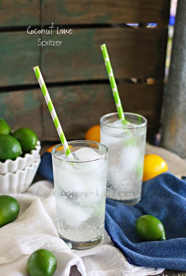 Coconut Lime Spritzer