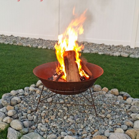 Easy Backyard Fire Pit