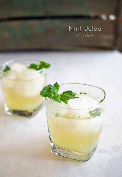 Mint Julep Mocktail : Mocktail Monday