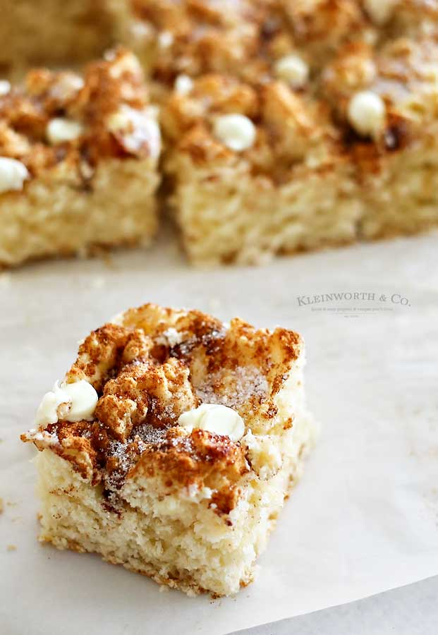 Snickerdoodle Coffee Cake breakfast recipe