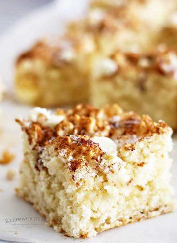 Snickerdoodle Coffee Cake recipe