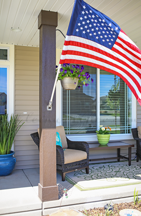 Summer Porch Makeover