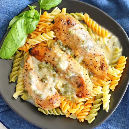 Grilled Chicken Piccata : Easy Family Dinner Ideas