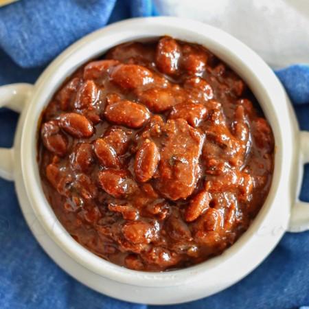 Bourbon Baked Beans : Easy Family Dinner Ideas