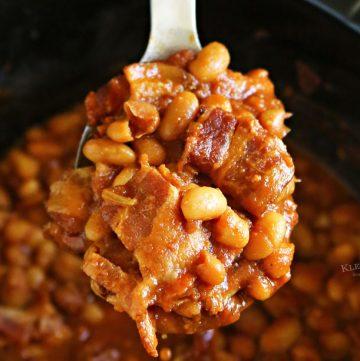 Bourbon Baked Beans - Slow Cooker Recipe