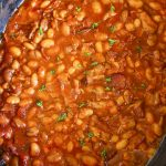 Bourbon Baked Beans – Slow Cooker Recipe