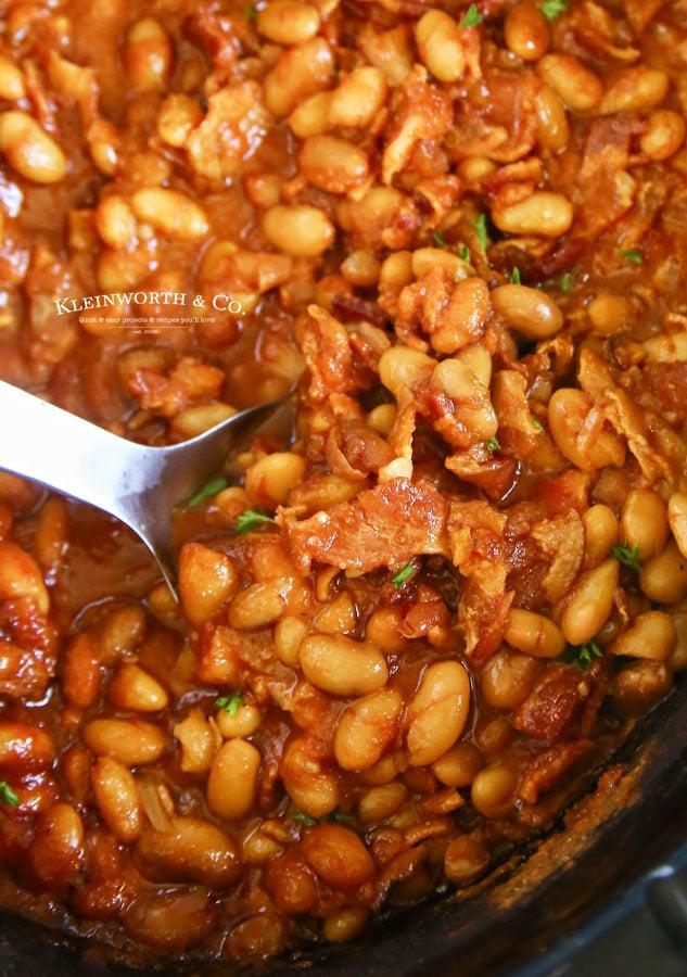 easiest baked beans recipe