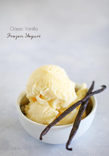 Classic Vanilla Frozen Yogurt