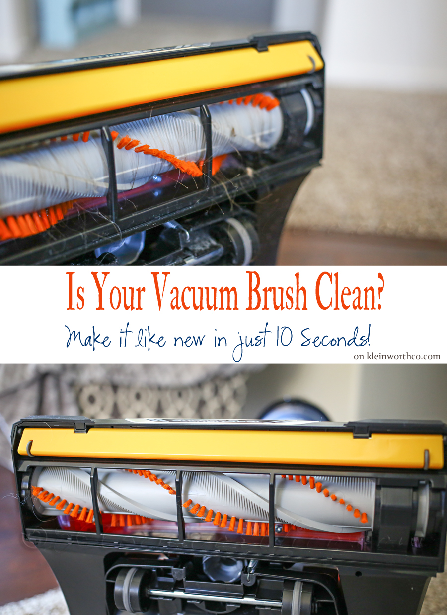 Is Your Vacuum Brush Clean?