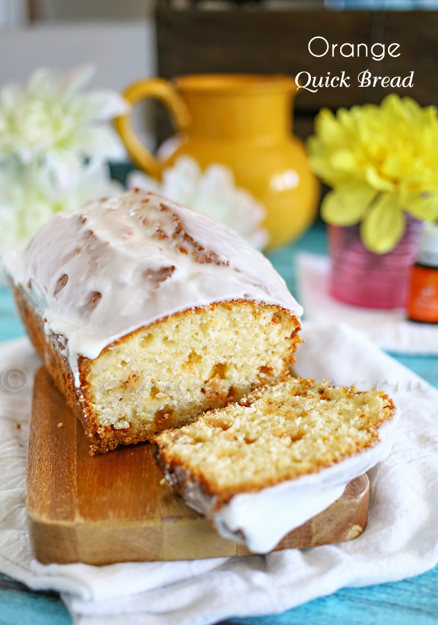 Orange Quick Bread : Essential Oils